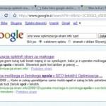 google doda stran v 16ih minutah