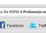 Facebook like na 24ur.com