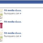 Foursquare na Facebooku