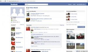 Facebook strani