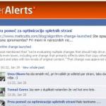 Hyper alerts sporočilo