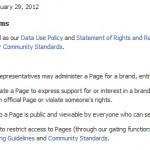 Pravila za Facebook strani za podjetja