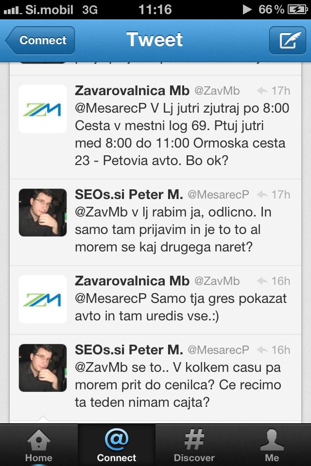 Zavarovalnica Maribor Twitter