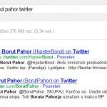 Borut Pahor na twitterju