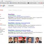 Borut Pahor v google.si