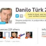 Danilo Türk na twtterju