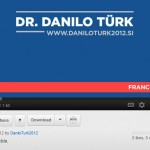 Danilo Türk na YouTube