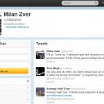 Milan Zver na Twitterju