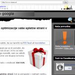 Izgled spletne strani