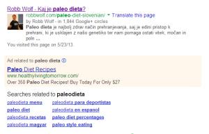 Slabi Google rezultati
